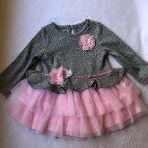 Pink Flower Baby Dress